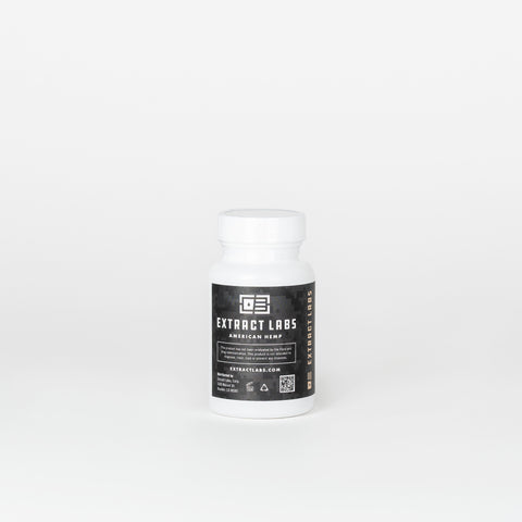 Extract Labs Full Spectrum CBD Capsules - Alleviate Wellness
