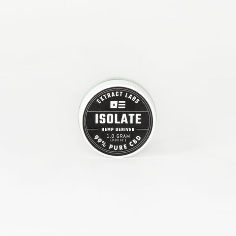 Extract Labs CBD Isolate Powder - Alleviate Wellness