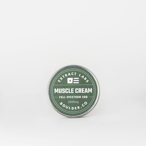 Extract Labs Full Spectrum CBD Muscle Cream - Alleviate Wellness