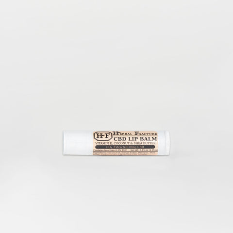 Herbal Fracture Full Spectrum CBD Lip Balm - Alleviate Wellness