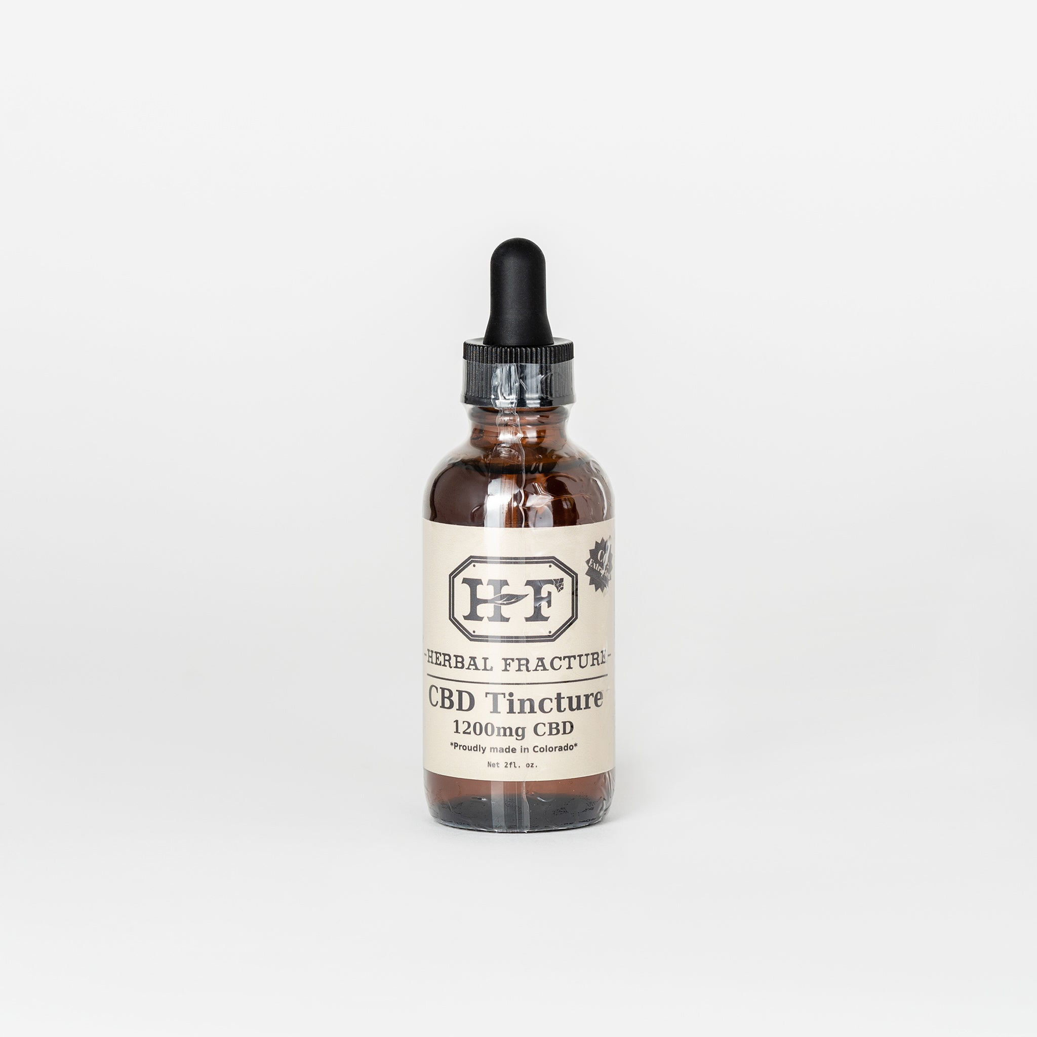 Herbal Fracture Full Spectrum CBD Tincture - Alleviate Wellness