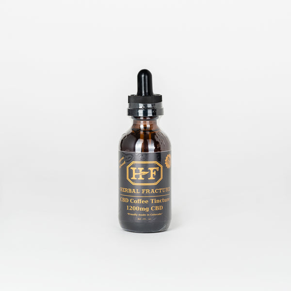 Herbal Fracture CBD Isolate Tincture - Alleviate Wellness
