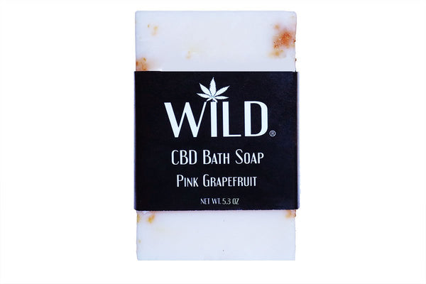 Wild CBD Bath Soaps - Alleviate Wellness