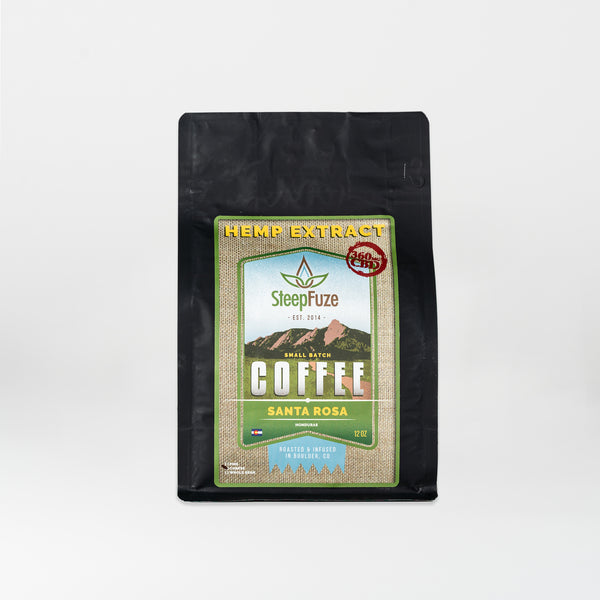 SteepFuze Full Spectrum CBD-infused Coffees - Alleviate Wellness