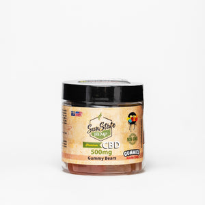Sun State Hemp CBD Isolate Gummies - Alleviate Wellness