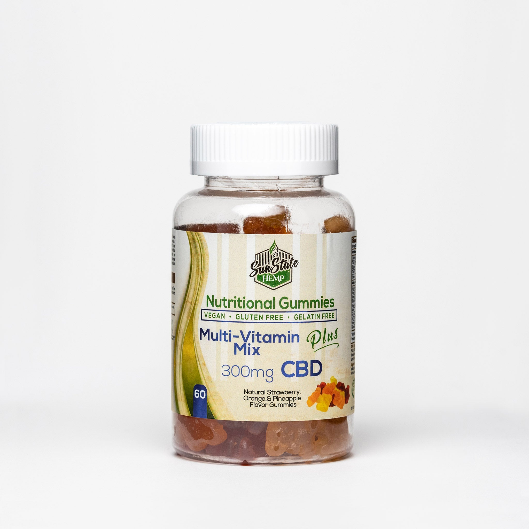 Sun State Hemp CBD Nutritional Gummies - Alleviate Wellness