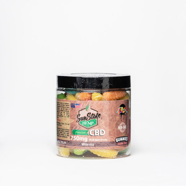 Sun State Hemp Full Spectrum CBD Gummies - Alleviate Wellness