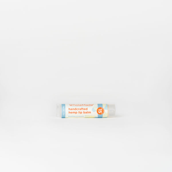 WholeMade Hemp Lip Balm - Alleviate Wellness