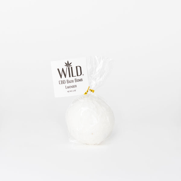 Wild CBD Bath Bombs - Alleviate Wellness