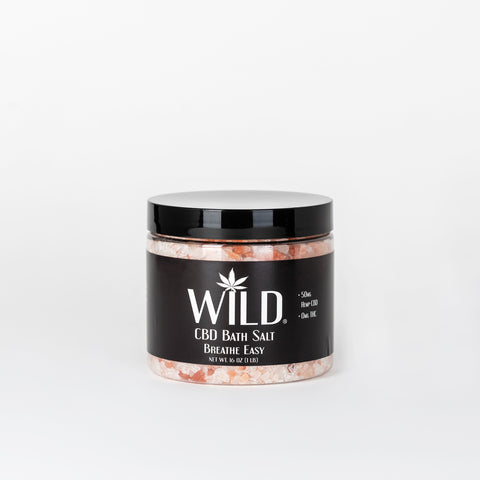 Wild CBD Bath Salt - Alleviate Wellness