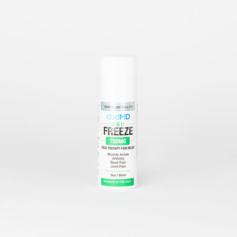 cbdMD Broad Spectrum CBD Freeze Roller - Alleviate Wellness