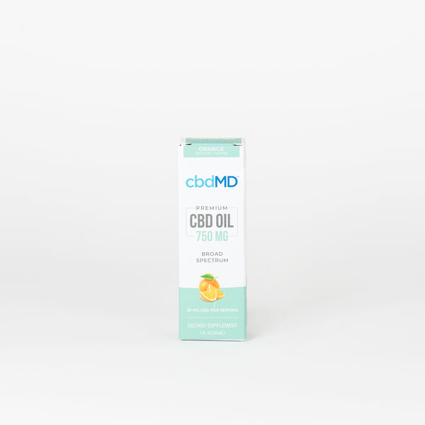 cbdMD Broad Spectrum CBD Oil Tincture - Alleviate Wellness