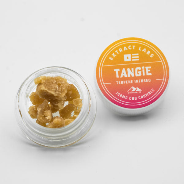 Extract Labs Tangie Full Spectrum CBD Crumble - Alleviate Wellness