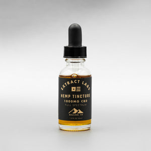 Extract Labs CBD Tincture (1000mg/30ml) - Alleviate Wellness