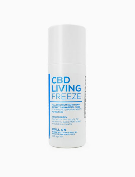 CBD Living Freeze Full Spectrum CBD Roll On - Alleviate Wellness