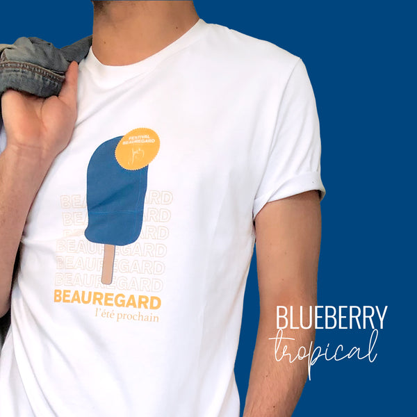 T-shirt Blueberry Tropical