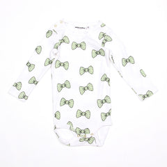 Bow Long Sleeve Body - Light Green