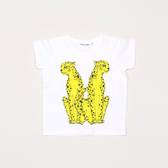 Cheeta Short Sleeve Tee - White