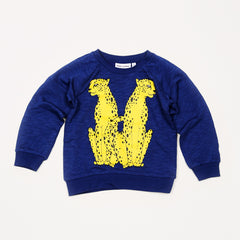 Cheeta Sweatshirt - Dark Blue