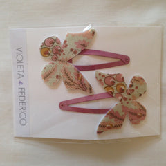 Clips Mariposa - Forest Pink