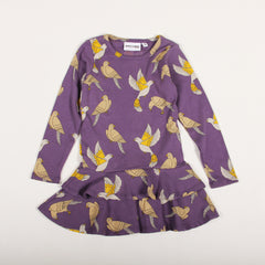 Doves Dress - Purple