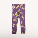 Doves Leggings - Purple