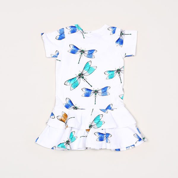 Dragonfly Dress - White