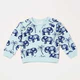Elephant Sweatshirt - Blue