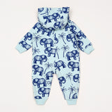 Elephant Onesie - Light Blue
