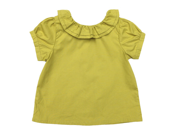 Grace Shirt - Short Sleeve - Mustard