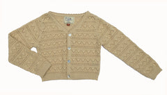 Lace Cardigan - Cream