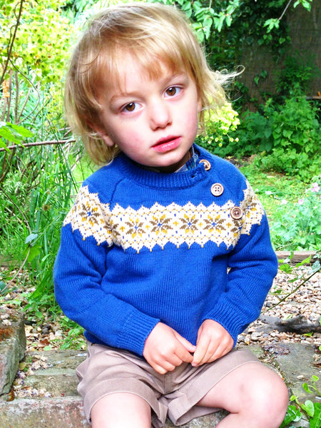 Oscar Jumper - Blue