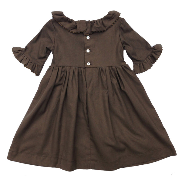 Ottelie Dress - Brown