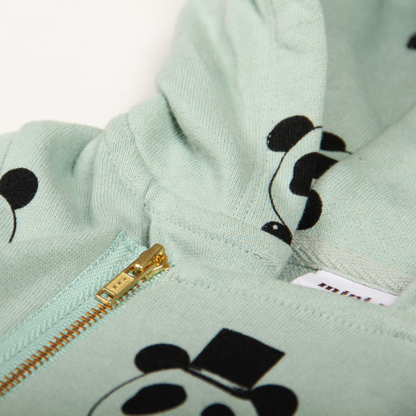 Panda Onesie - Light Green