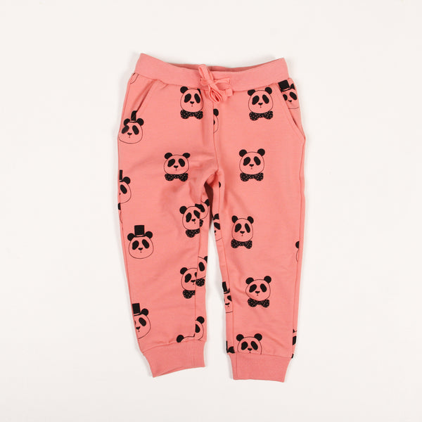 Panda Sweatpants - Pink