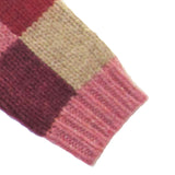 Patchwork Jumper - Pink