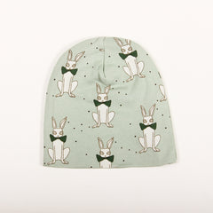 Rabbit Beanie - Green