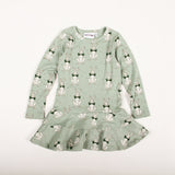 Rabbit Dress - Green