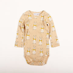 Rabbit Long Sleeve Body - Beige