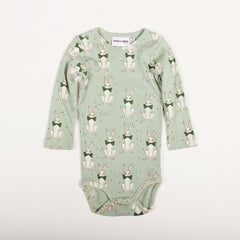 Rabbit Long Sleeve Body - Green