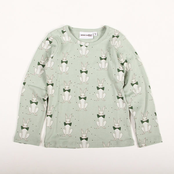 Rabbit Long Sleeve Tee - Green