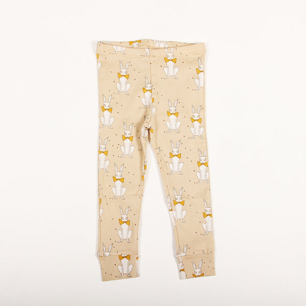 Rabbit Leggings - Beige