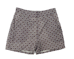 Raffie Shorts - Brown Floral