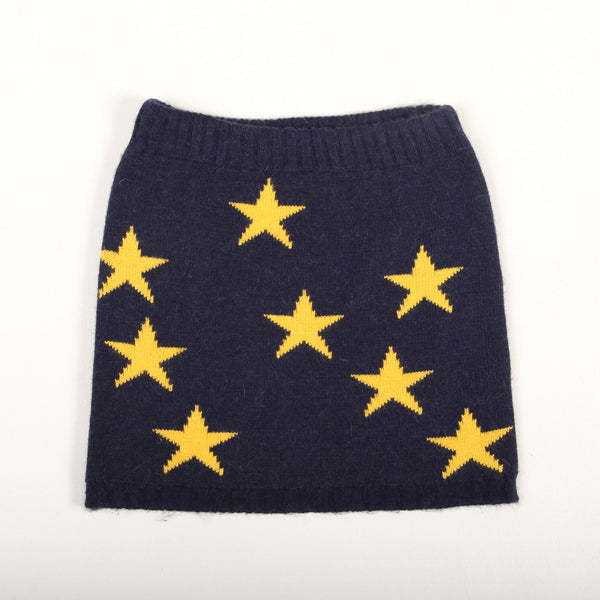 Star Skirt - Dark Blue/Yellow