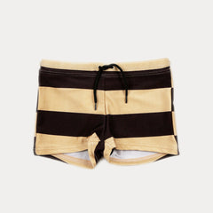 Stripe Rope Swimpants - Brown