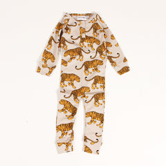 Tiger Long Leg Body - Grey Melange