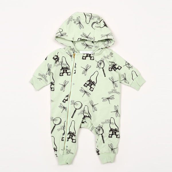 Zoologist Onesie - Light Green