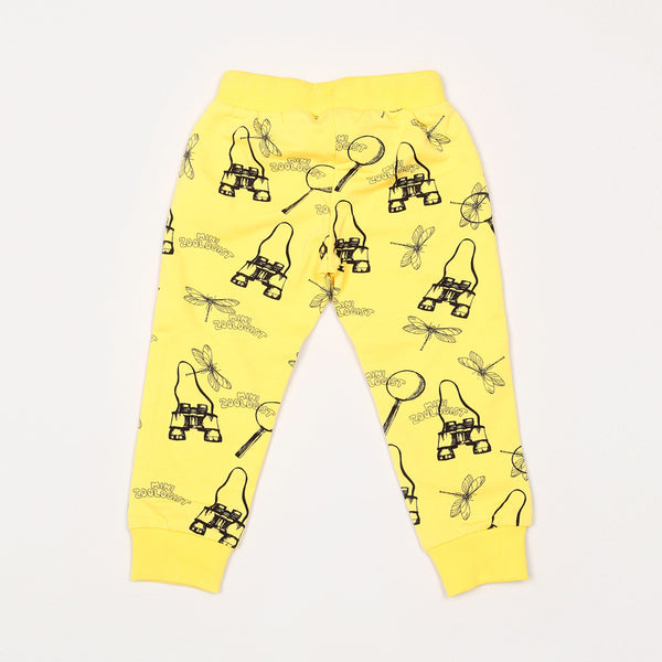 Zoologist Sweatpants - Yellow