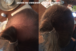 Jason By Sweden - 25g - Dark Brown - Mörkbrun