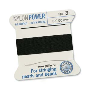 Griffin Nylon Black 2 meter card size 3